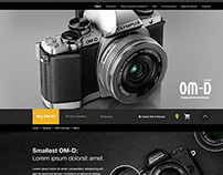 Olympus - OM-D E-M10 - Productpage