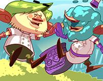 Game ''Gigantes Famintos'' - 2013