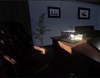 """Crime Scene"" Unreal Engine 4 Real-Time Visualization"