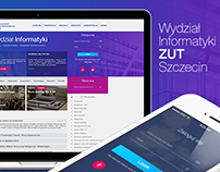 WI ZUT website concept