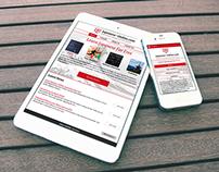 Japanese Online website redesign