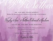 Roberts Marlowe Wedding Invitations