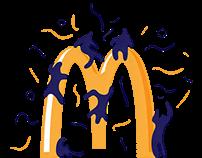 Logo fetish illustration