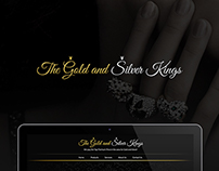 The Gold and Silver Kings Web Design