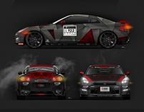 Redback Racing R35 GTR Vinyl Wrap