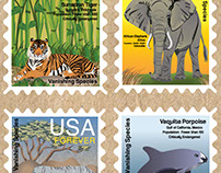 Vanishing Species - Stamp Collection