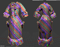 Maid Retopology and Unwrap