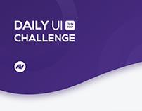 Daily Ui Challenge - JUN 2017 | MahfWorks