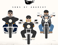 Sons of Anarchy Illustration