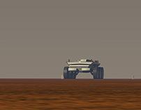 Mars - Merovingien Rover