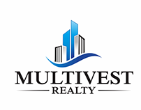 Logo Design for Multivest Realty