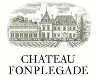 Chateau de Fonplegade Illustrated by Steven Noble