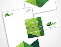 Corporate Identity for Building Construction Company