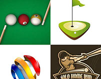 40 Creative Sports Logo Design Ideas for inspiration