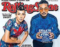 Shaai'r & Func for the Cover of Rolling Stone.