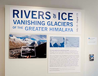 Rivers of Ice: Exhibition Graphics