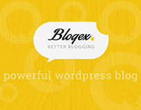 Blogex Minimal Blog