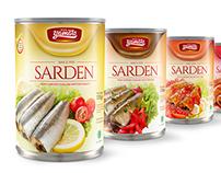 Yamato Sardines Packaging