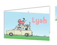 Birth Announcement Lyah