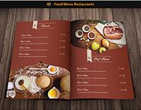 Food Menu Restaurant