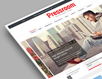 Pressroom - Responsive News and Magazine Template