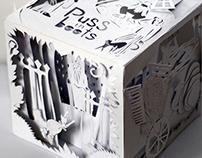 Paper Cube Book