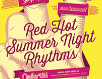 Nefertiti Jazz Club Poster