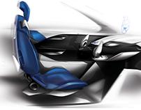 Honda  Morph Interior