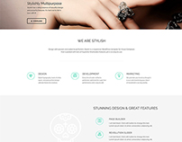 Stylish Template - Supreme Social WordPress Theme