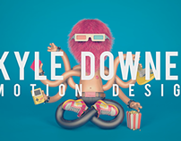 Kyle Downes Showreel 2013