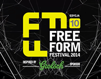Free Form Festival 2014 motion graphics