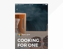 Daily Ui // Foodies Everywhere Interaction