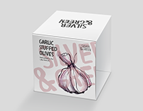 Silver & Green Olive Packaging and Website