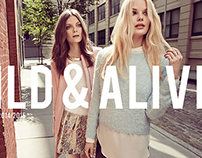Wild & Alive Fall Winter 2014 Advertising Campaign
