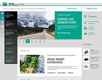 Arval website