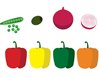 Free Vegetable icons (Ai format)