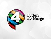 P4 – Lyden av Norge (Visual Identity)