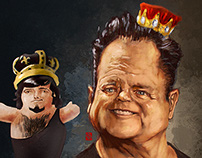 "WWE - Jerry ""The King"" Lawler"
