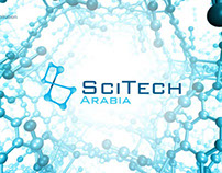 Scitech Branding - logotype and webdesign