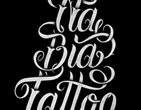 NaBia Tattoo - Typography