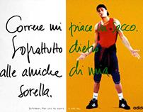 Adidas Softwear print campaign (1996)