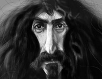 Corel Painter  Mobile review - Frank Zappa