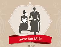 Wedding Invitations Vector Templates