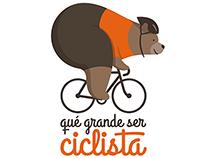 Que grande ser ciclista