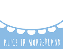 Alice in Wonderland Minimalist Posters
