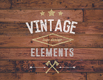 Free vintage logo design elements and icons