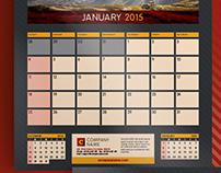 2015-2016 Wall Calendar + Poster A3