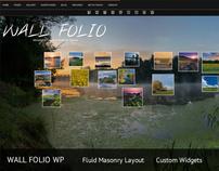 Wall Folio Photography Minimalist Wordpress Theme