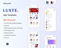 Luxte UI Kit Ecommerce