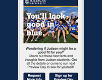 Judson University Email Marketing